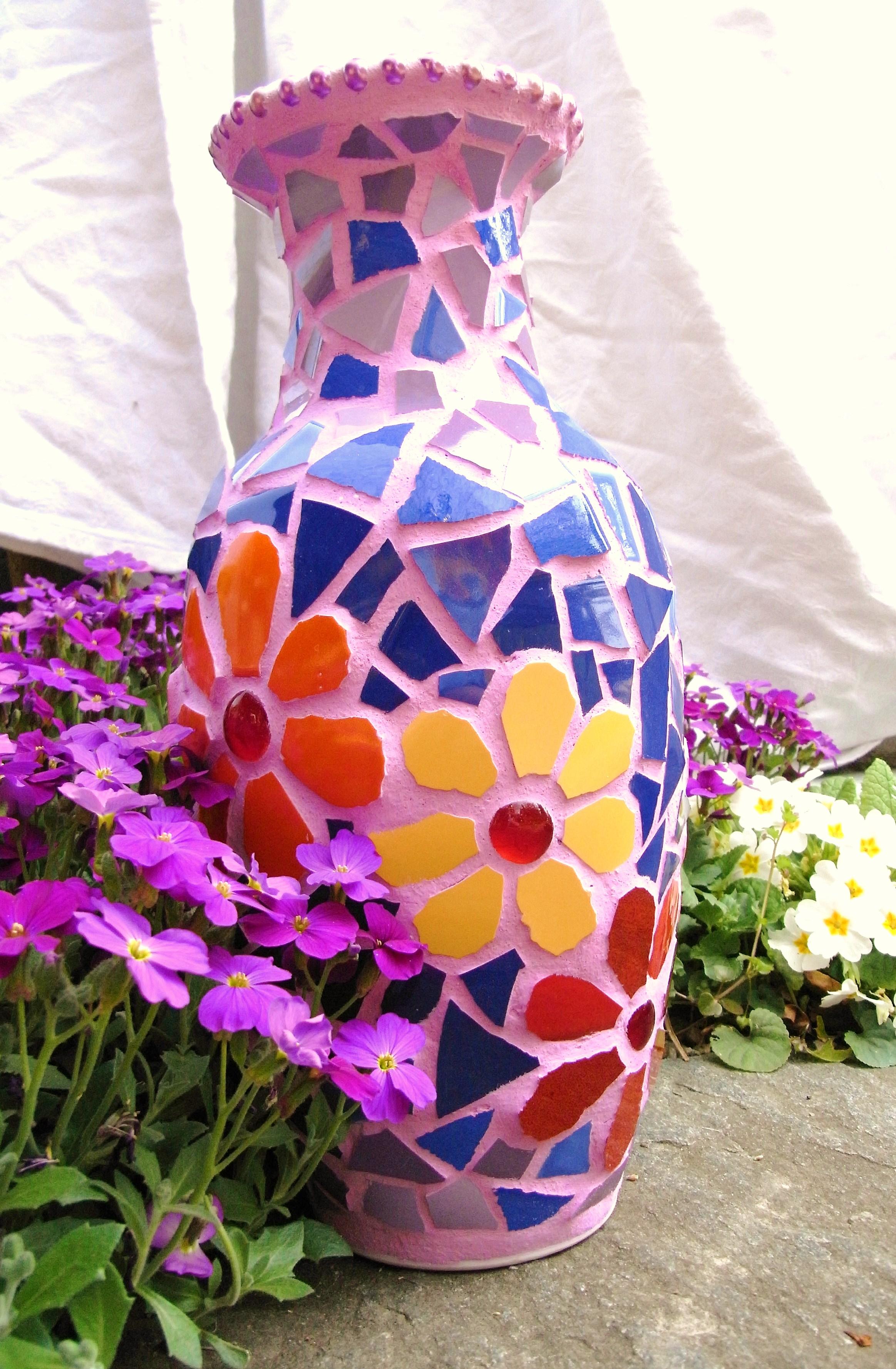 Mosaic Flowers | mtv65 | Foundmyself