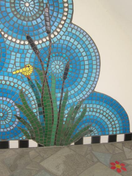Frances Green Mosaic Bathroom